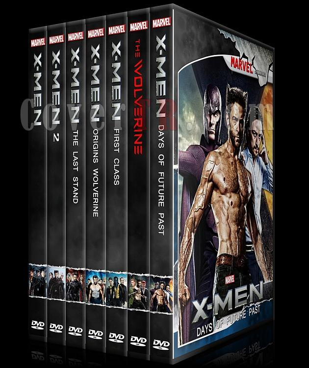X-Men and The Wolverine Collection - Custom Dvd Cover Set - English [2000-2014]-x-men_alljpg