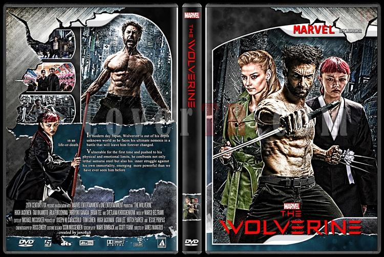 X-Men and The Wolverine Collection - Custom Dvd Cover Set - English [2000-2014]-the_wolverinejpg