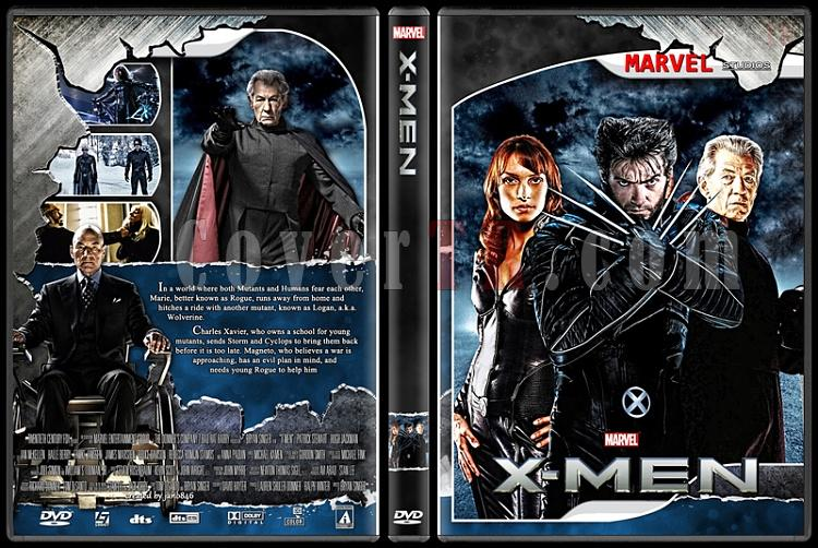 X-Men and The Wolverine Collection - Custom Dvd Cover Set - English [2000-2014]-x-menjpg