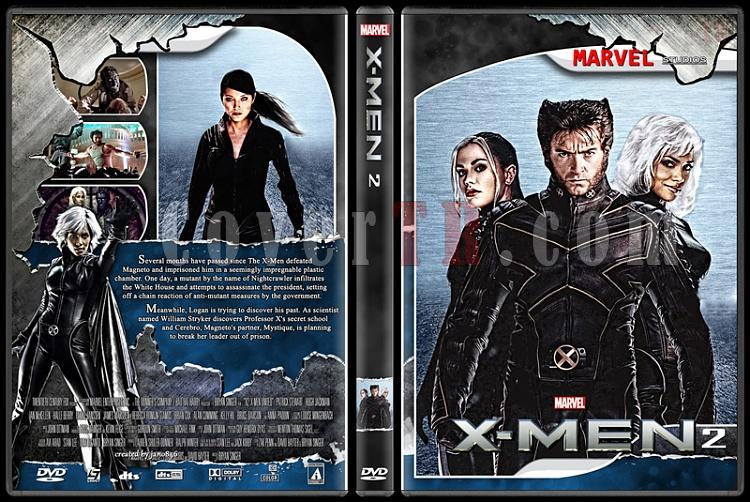 X-Men and The Wolverine Collection - Custom Dvd Cover Set - English [2000-2014]-x-men_2jpg