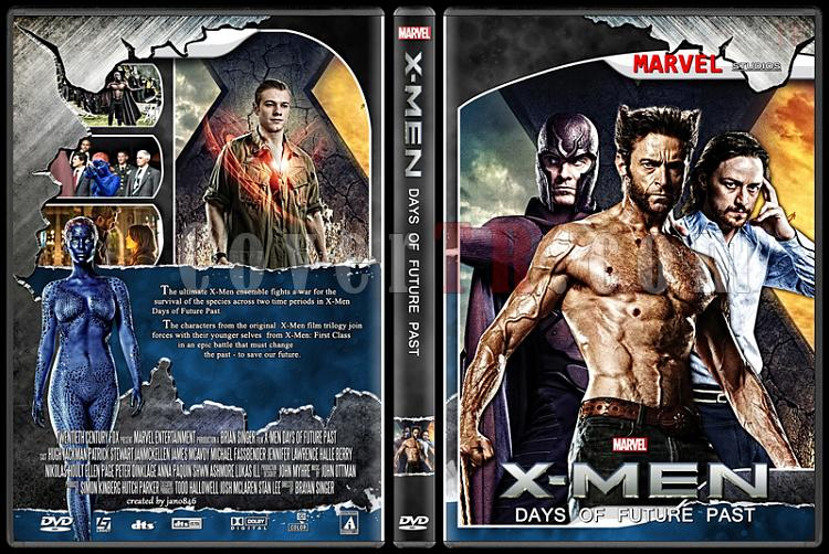 X-Men and The Wolverine Collection - Custom Dvd Cover Set - English [2000-2014]-x-men_days_of_future_pastjpg