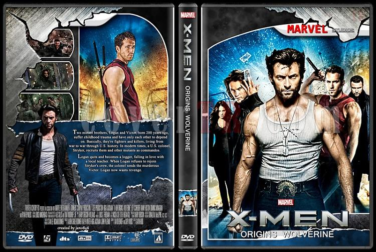 X-Men and The Wolverine Collection - Custom Dvd Cover Set - English [2000-2014]-x-men_origins_wolverinejpg