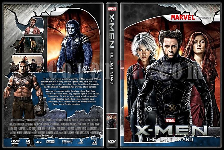 X-Men and The Wolverine Collection - Custom Dvd Cover Set - English [2000-2014]-x-men_the_last_standjpg