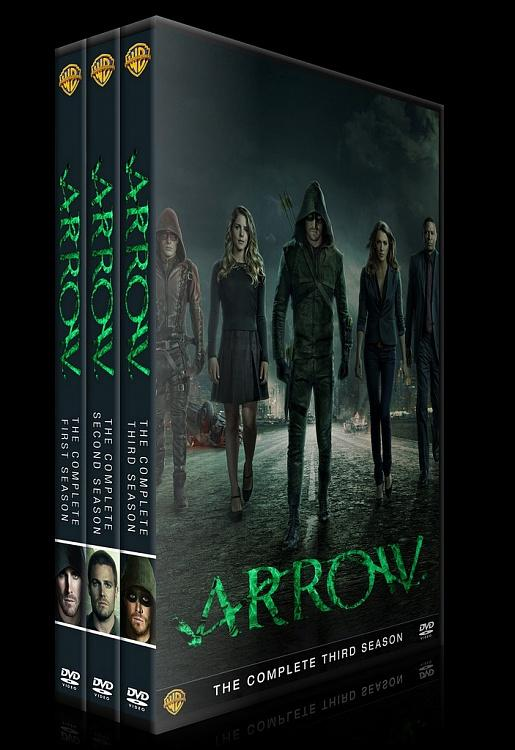 Arrow (Seasons 1-3) - Custom Dvd Cover Set - English [2012-?]-0jpg