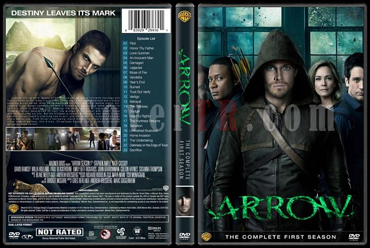 Arrow (Seasons 1-3) - Custom Dvd Cover Set - English [2012-?]-1jpg