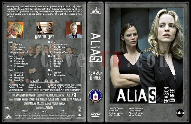 Alias (Seasons 1-4) - Custom Dvd Cover Set - English [2001-2006]-alias-season-3-dvd-coverjpg