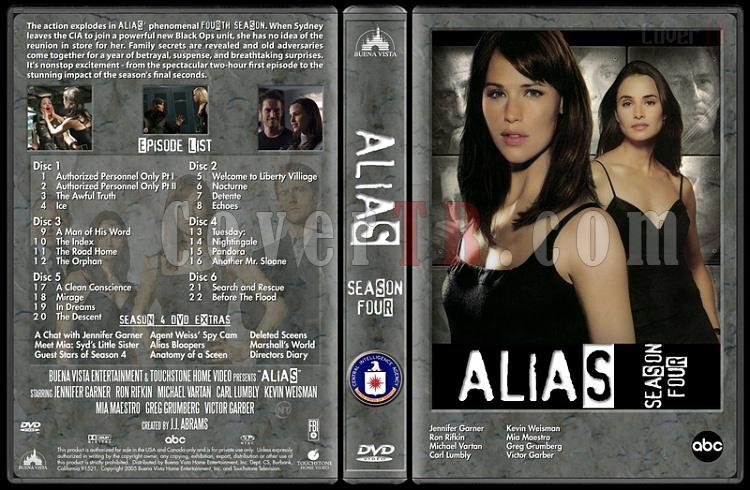 Alias (Seasons 1-4) - Custom Dvd Cover Set - English [2001-2006]-alias-season-4-dvd-coverjpg