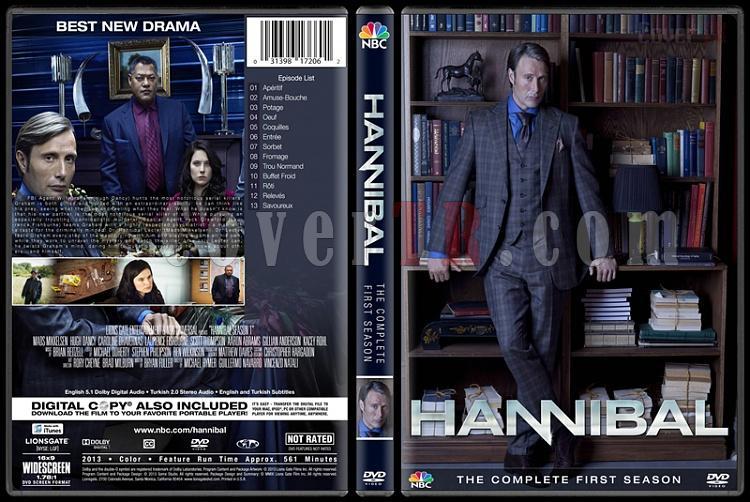 Hannibal (Season 1-3) - Custom Dvd Cover Set - English [2013–2015]-1jpg