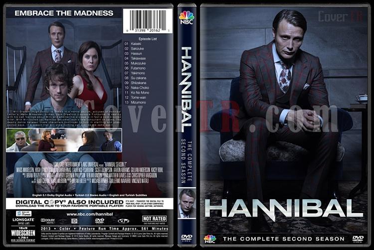 Hannibal (Season 1-3) - Custom Dvd Cover Set - English [2013–2015]-2jpg