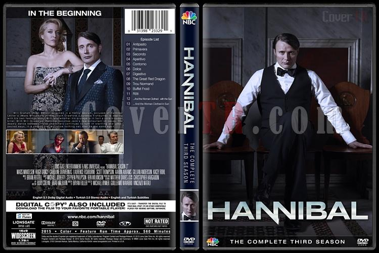 Hannibal (Season 1-3) - Custom Dvd Cover Set - English [2013–2015]-3jpg