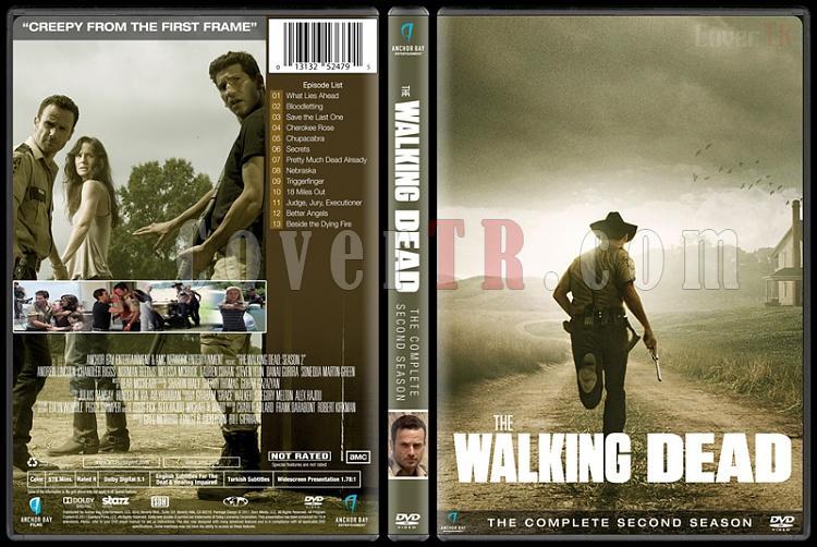 The Walking Dead  (Seasons 1-6) - Custom Dvd Cover Set - English [2010-?]-season-2jpg