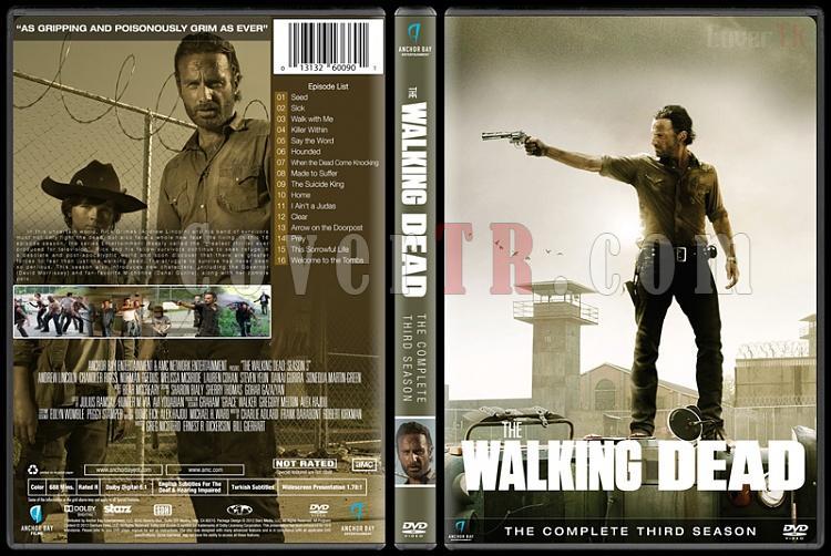 The Walking Dead  (Seasons 1-6) - Custom Dvd Cover Set - English [2010-?]-season-3jpg