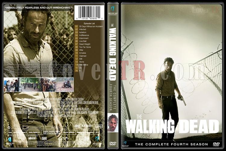 The Walking Dead  (Seasons 1-6) - Custom Dvd Cover Set - English [2010-?]-season-4jpg