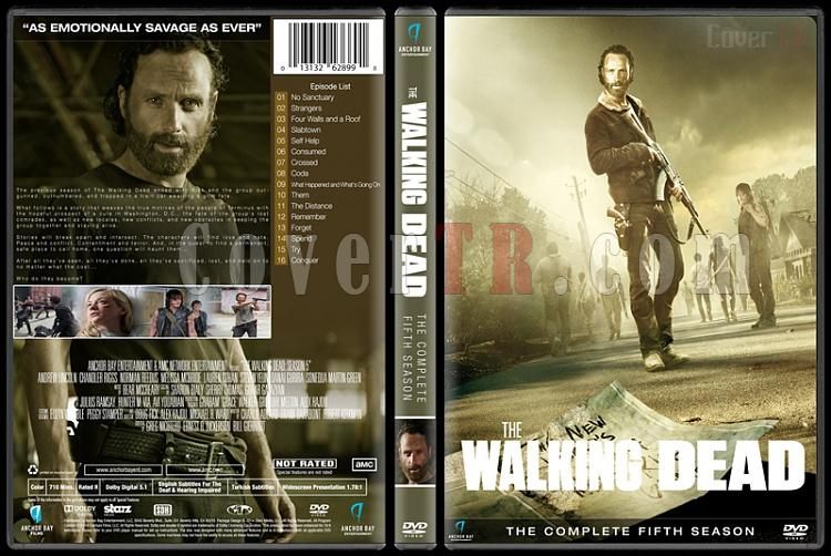 The Walking Dead  (Seasons 1-6) - Custom Dvd Cover Set - English [2010-?]-season-5jpg