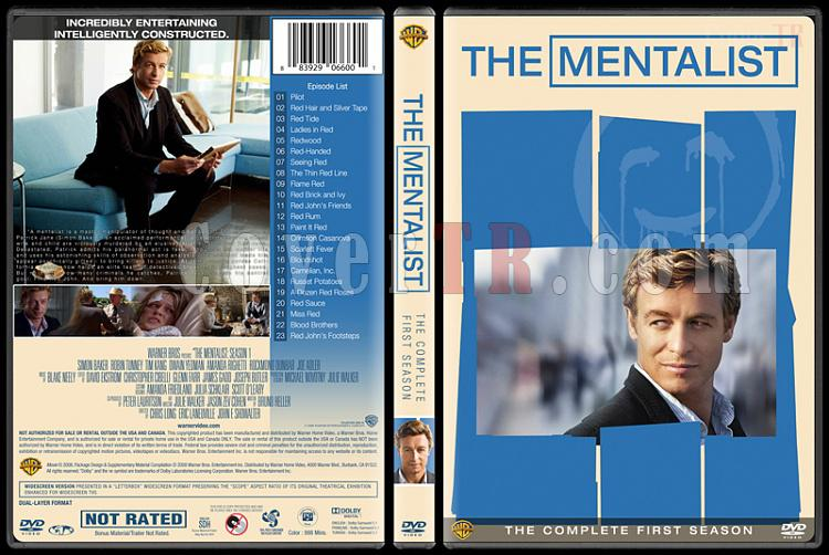 The Mentalist (Seasons 1-7) - Custom Dvd Cover Set - English [2008-2015]-mentalist-season-1jpg