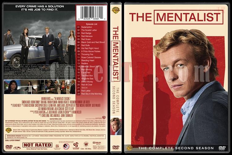 The Mentalist (Seasons 1-7) - Custom Dvd Cover Set - English [2008-2015]-mentalist-season-2jpg