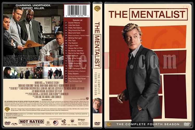 The Mentalist (Seasons 1-7) - Custom Dvd Cover Set - English [2008-2015]-mentalist-season-4jpg