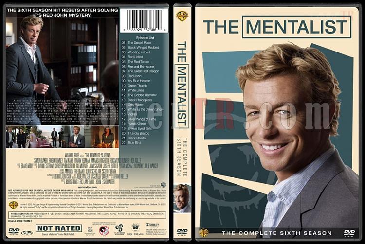 The Mentalist (Seasons 1-7) - Custom Dvd Cover Set - English [2008-2015]-mentalist-season-6jpg