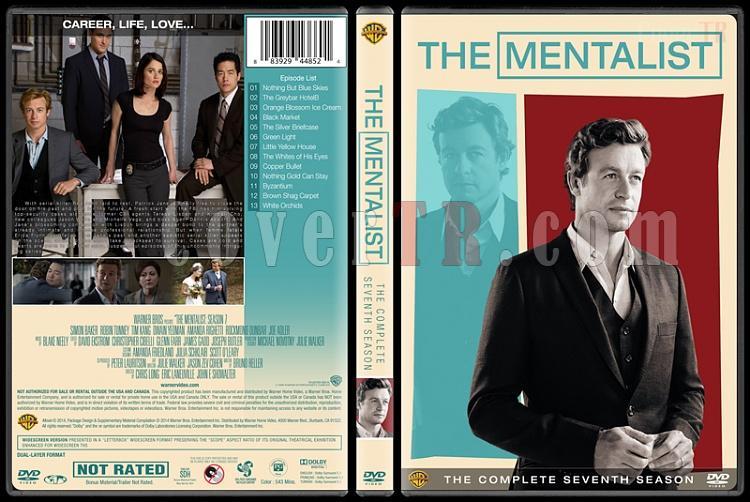 The Mentalist (Seasons 1-7) - Custom Dvd Cover Set - English [2008-2015]-mentalist-season-7jpg