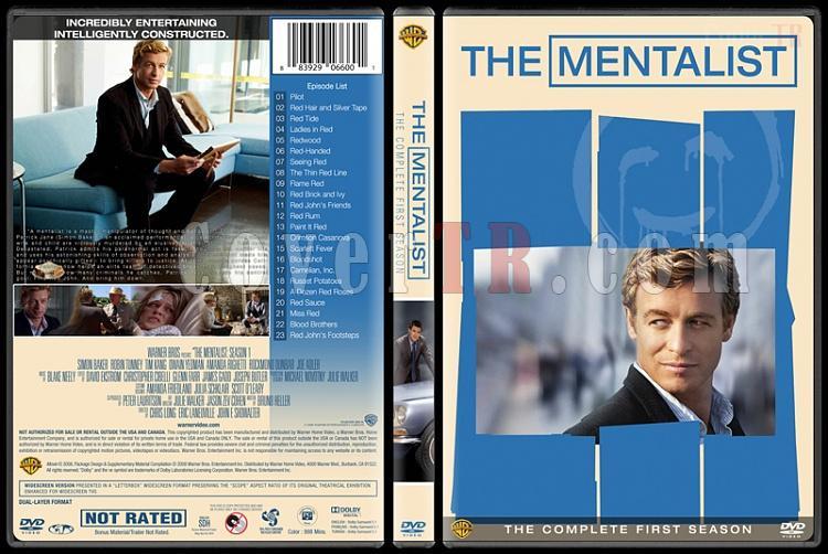 The Mentalist (Seasons 1-7) - Custom Dvd Cover Set - English [2008-2015]-1jpg