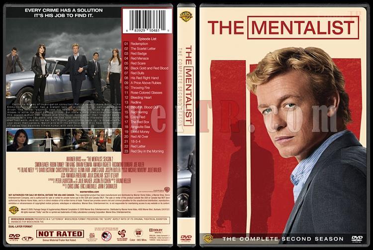 The Mentalist (Seasons 1-7) - Custom Dvd Cover Set - English [2008-2015]-2jpg