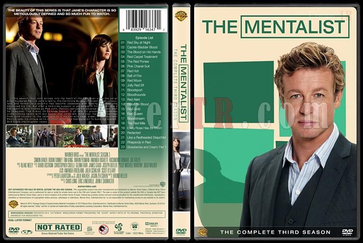 The Mentalist (Seasons 1-7) - Custom Dvd Cover Set - English [2008-2015]-3jpg
