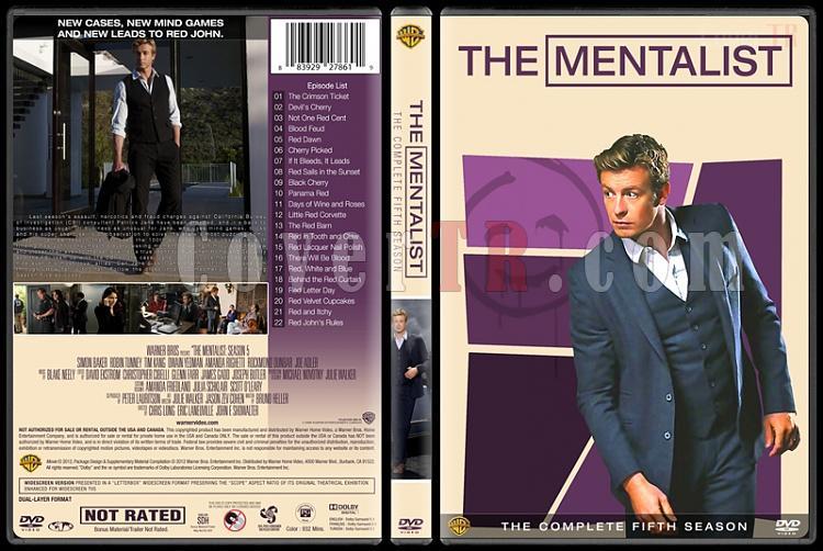 The Mentalist (Seasons 1-7) - Custom Dvd Cover Set - English [2008-2015]-5jpg