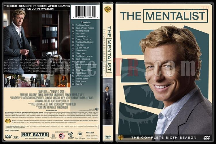 The Mentalist (Seasons 1-7) - Custom Dvd Cover Set - English [2008-2015]-6jpg