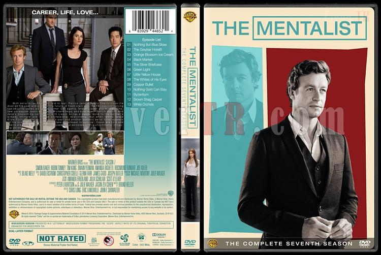The Mentalist (Seasons 1-7) - Custom Dvd Cover Set - English [2008-2015]-7jpg