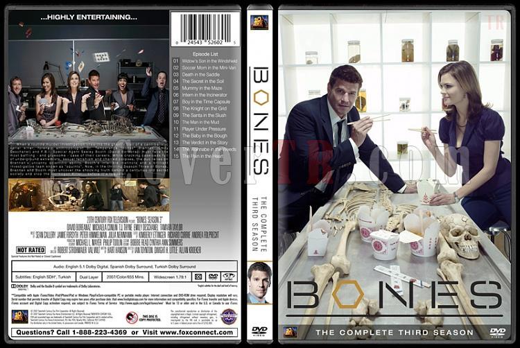 Bones (Seasons 1-10) - Custom Dvd Cover Set - English [2005-?]-bones-season-03jpg