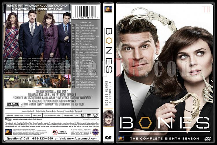 Bones (Seasons 1-10) - Custom Dvd Cover Set - English [2005-?]-bones-season-08jpg
