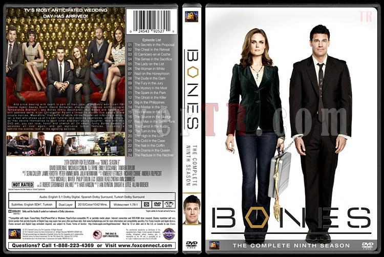 Bones (Seasons 1-10) - Custom Dvd Cover Set - English [2005-?]-bones-season-09jpg