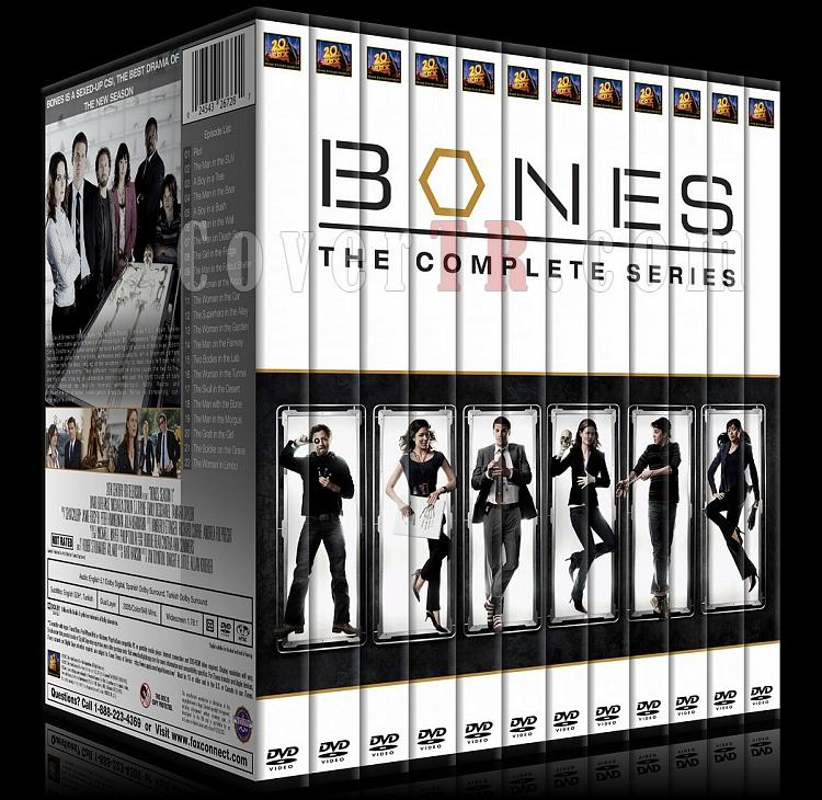 Bones (Seasons 1-10) - Custom Dvd Cover Set - English [2005-?]-00jpg
