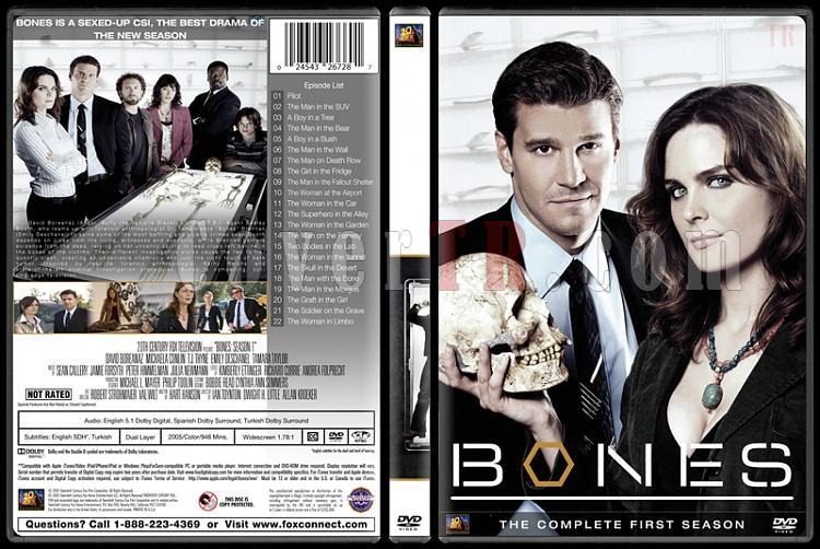 Bones (Seasons 1-10) - Custom Dvd Cover Set - English [2005-?]-bones-season-01jpg