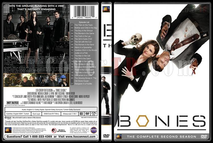 Bones (Seasons 1-10) - Custom Dvd Cover Set - English [2005-?]-bones-season-02jpg