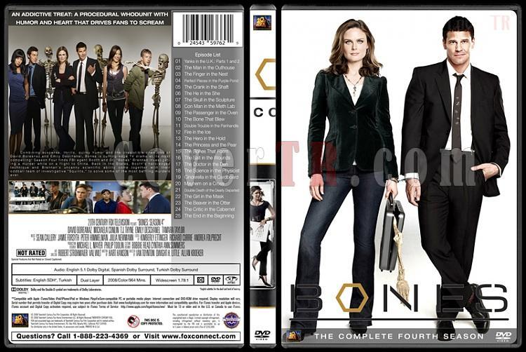 Bones (Seasons 1-10) - Custom Dvd Cover Set - English [2005-?]-bones-season-04jpg