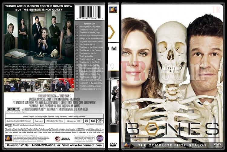 Bones (Seasons 1-10) - Custom Dvd Cover Set - English [2005-?]-bones-season-05jpg