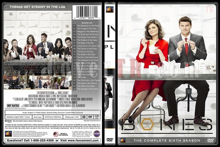 Bones (Seasons 1-10) - Custom Dvd Cover Set - English [2005-?]-bones-season-06jpg