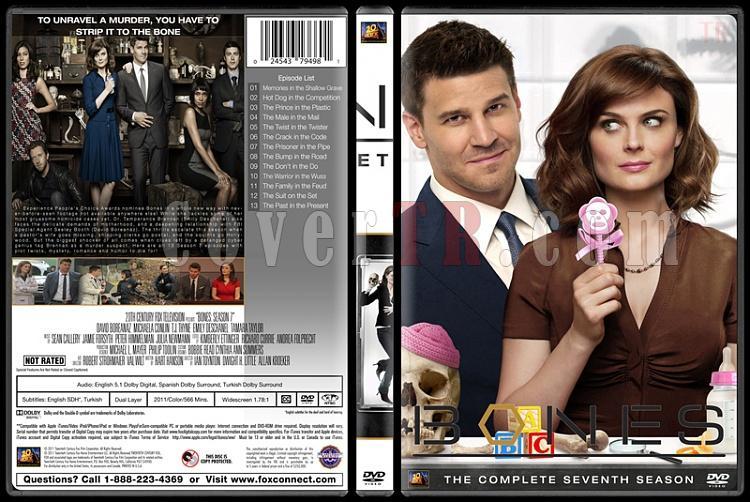 Bones (Seasons 1-10) - Custom Dvd Cover Set - English [2005-?]-bones-season-07jpg