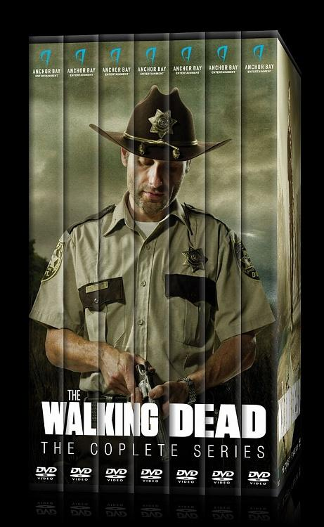 The Walking Dead (Seasons 1-6) - Custom Dvd Cover Set - English [2010-?]-00jpg