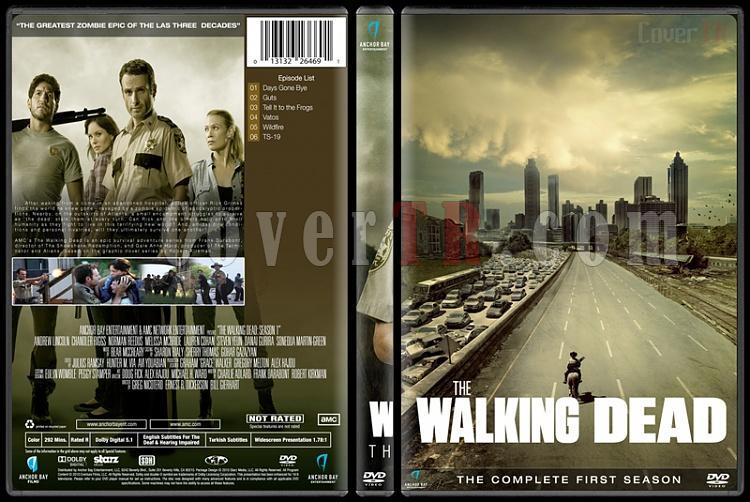 The Walking Dead (Seasons 1-6) - Custom Dvd Cover Set - English [2010-?]-season-1jpg