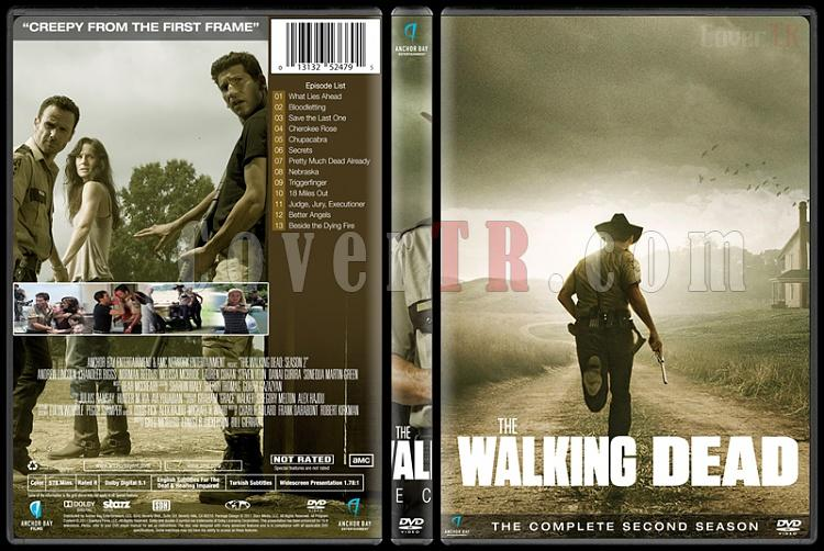 The Walking Dead (Seasons 1-6) - Custom Dvd Cover Set - English [2010-?]-season-2jpg
