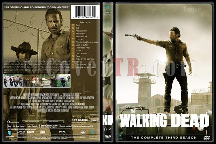 The Walking Dead (Seasons 1-6) - Custom Dvd Cover Set - English [2010-?]-season-3jpg