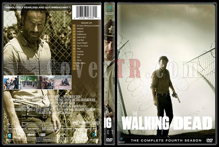 The Walking Dead (Seasons 1-6) - Custom Dvd Cover Set - English [2010-?]-season-4jpg