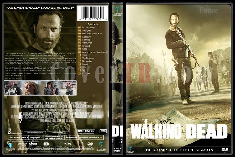The Walking Dead (Seasons 1-6) - Custom Dvd Cover Set - English [2010-?]-season-5jpg