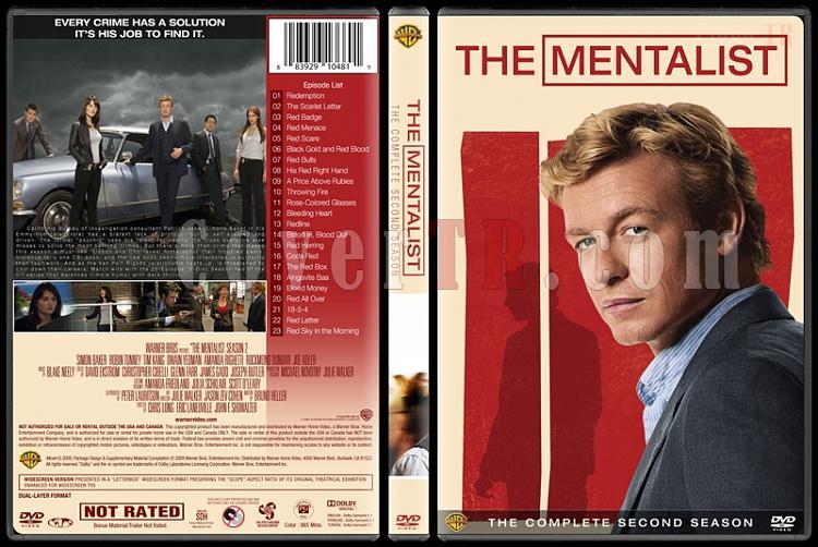 The Mentalist (Seasons 1-7) - Custom Dvd Cover Set - English