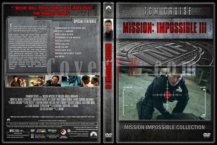 Mission: Impossible Collection - Custom Dvd Cover Set - English [1996-2015]-3jpg