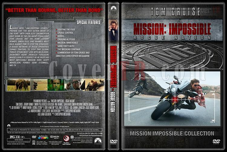 Mission: Impossible Collection - Custom Dvd Cover Set - English [1996-2015]-5jpg