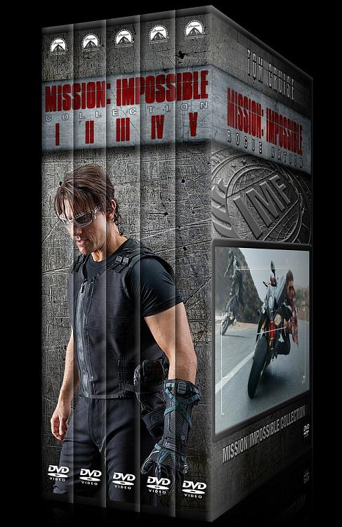 Mission: Impossible Collection - Custom Dvd Cover Set - English [1996-2015]-0jpg