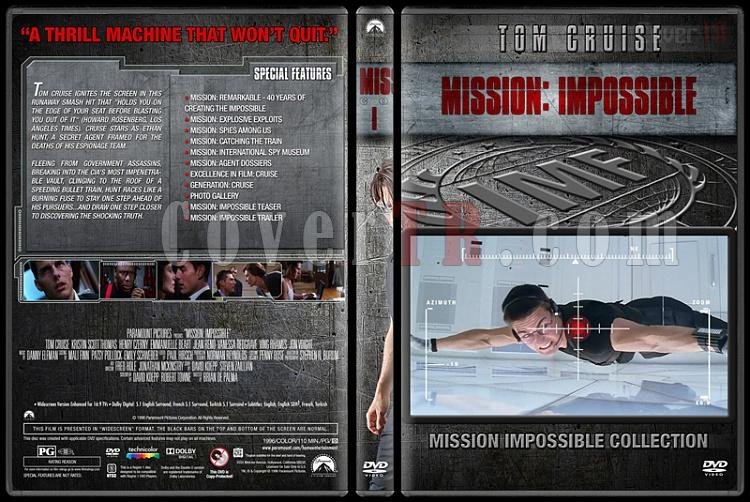Mission: Impossible Collection - Custom Dvd Cover Set - English [1996-2015]-1jpg